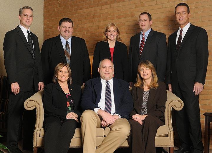 Crossroads Bank officers